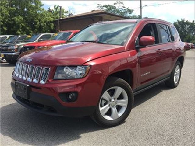 2016 JEEP COMPASS YES ITS ONLY GOT 467KM'S!!! in St Catharines, Ontario