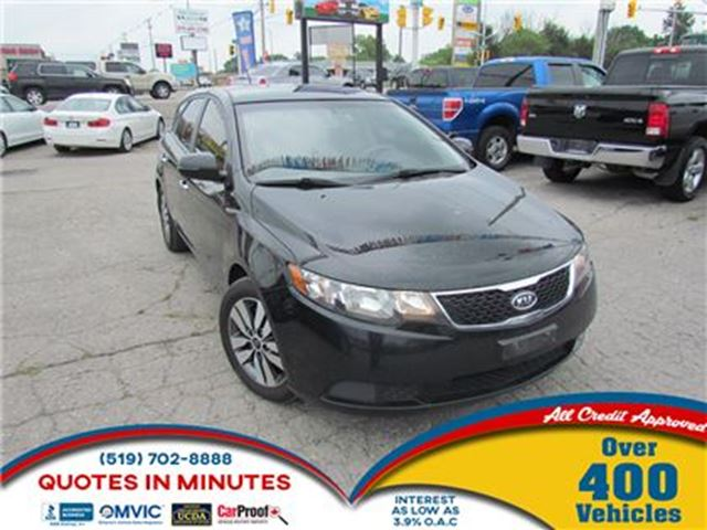 2013 KIA Forte EX   2.0L   HATCHBACK   BLUETOOTH in London, Ontario