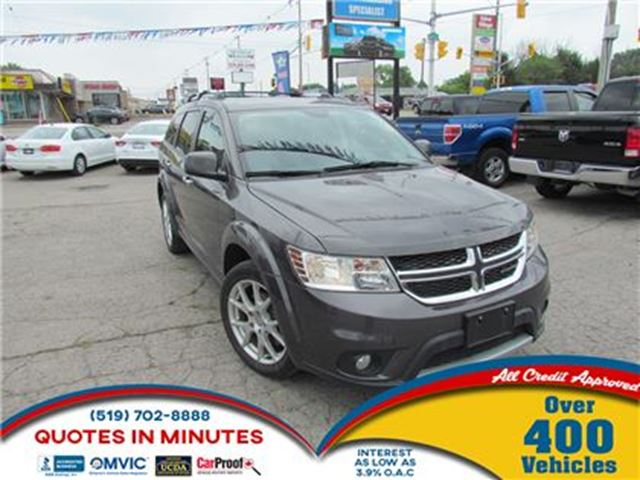 2015 DODGE JOURNEY R/T   AWD   LEATHER   7 PASSENGER in London, Ontario