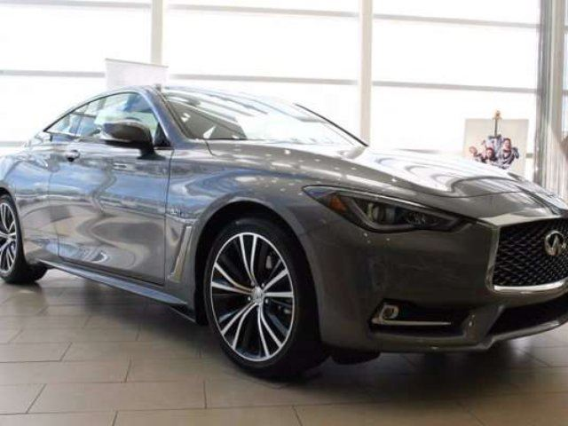2017 INFINITI Q60 Premium, Driver Assist, Technology 3.0t 2dr All-wheel Drive Coupe in Edmonton, Alberta