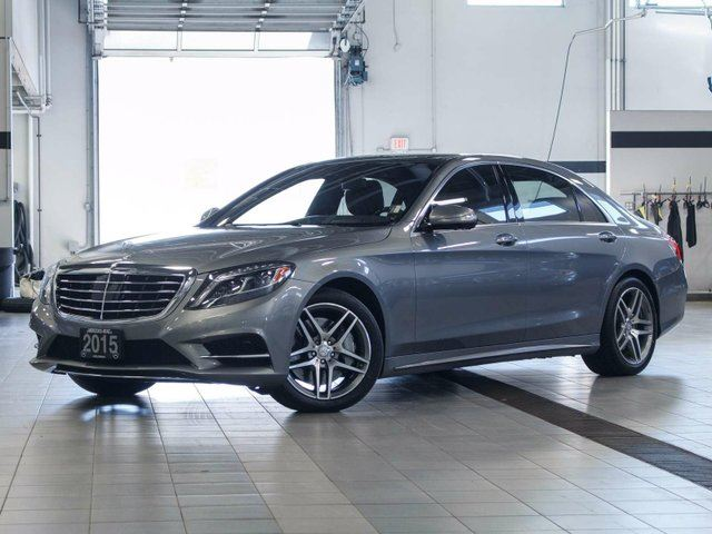 2015 MERCEDES-BENZ S-CLASS S 550 LWB 4MATIC in Kelowna, British Columbia