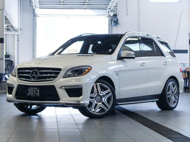 2013 MERCEDES-BENZ M-CLASS ML 63 AMG 4MATIC in Kelowna, British Columbia