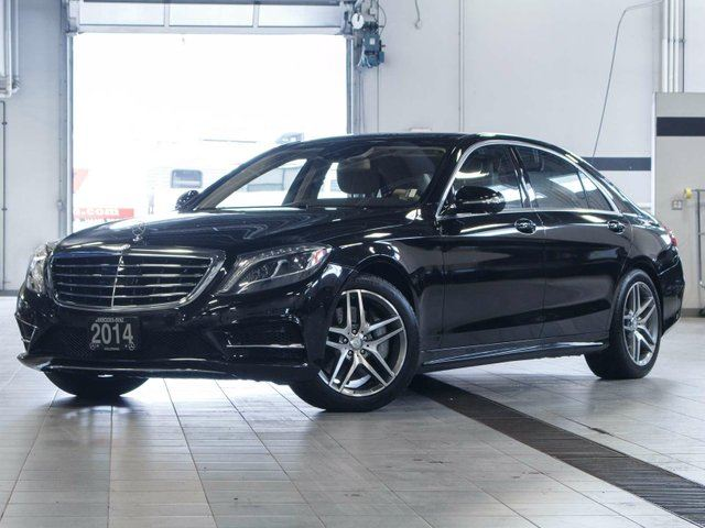 2014 MERCEDES-BENZ S-CLASS S 550 LWB 4MATIC in Kelowna, British Columbia