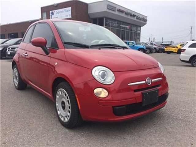 2012 FIAT 500 Pop Only 23, 000 KMS !!! in Concord, Ontario
