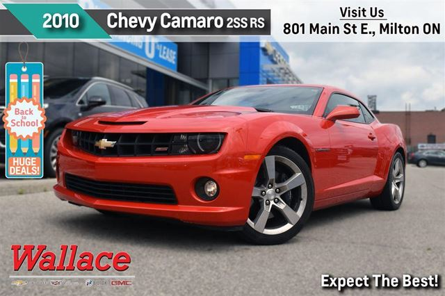 2010 Chevrolet Camaro 2SS/RS/V8/1-OWNER/CLEAN HSTRY/SUNROOF/HTD LTHR STS in Milton, Ontario