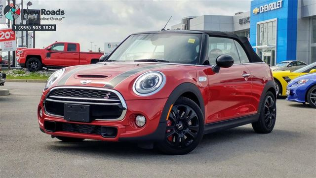 2016 MINI CONVERTIBLE Cooper S Cooper S, JCW, One Owner, No Accidents in Newmarket, Ontario