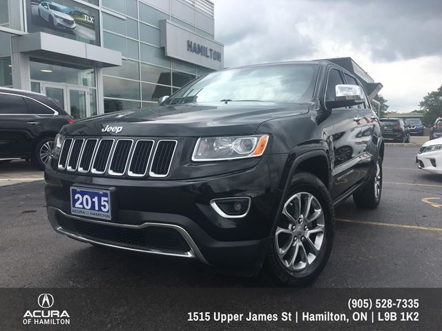 2015 JEEP GRAND CHEROKEE Limited Limited Edition!!! in Hamilton, Ontario