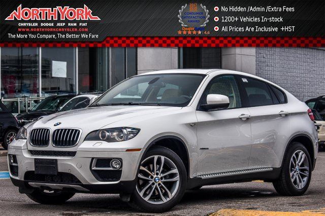 2014 BMW X6 xDrive35i Sunroof Nav Backup Cam Leather HTD Seats Quad Climate 19Alloys in Thornhill, Ontario