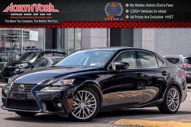 2015 Lexus IS 250 AWD Sunroof Leather BlindSpot HTD/Vntd Frnt Seats Backup Cam 18Alloys in Thornhill, Ontario