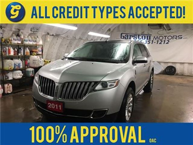 2011 LINCOLN MKX LIMITED*NAVIGATION*LEATHER*PANORAMIC ROOF* in Cambridge, Ontario