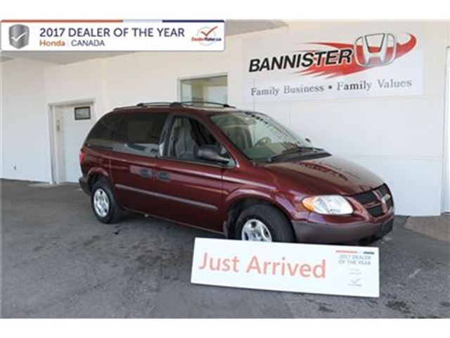 2002 Dodge Caravan SE, Low KMs in Vernon, British Columbia
