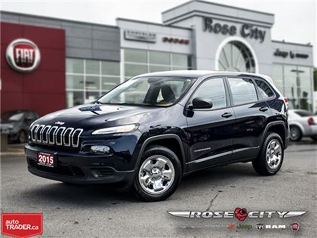 2015 JEEP CHEROKEE Sport~Heated Seats~Remote Start in Welland, Ontario
