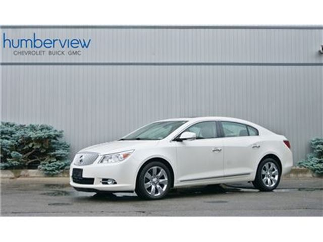 2011 BUICK LACROSSE CXS PANO ROOF VENTED SEATS REAR SENSORS in Toronto, Ontario