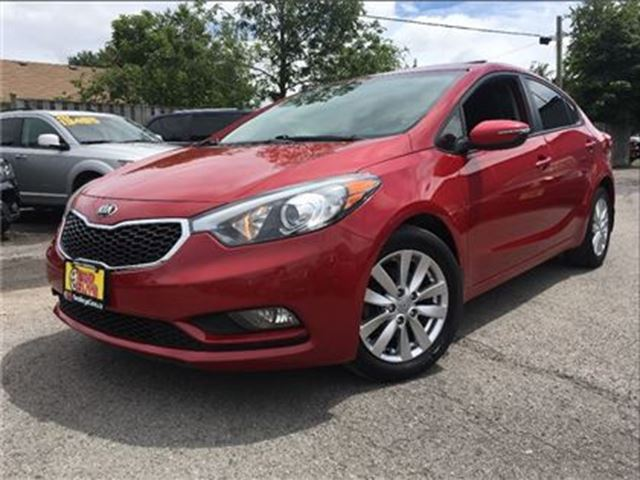 2014 KIA FORTE 1.8L LX+ SUNROOF   AUTO  HEATED FRONT SEATS in St Catharines, Ontario