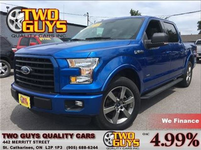 2015 Ford F-150 XLT NAVIGATION BACK UP CAMERA in St Catharines, Ontario