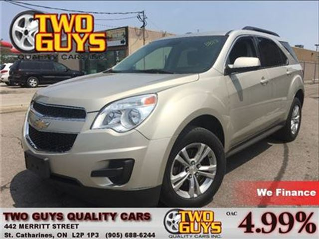 2014 CHEVROLET EQUINOX 1LT BACK UP CAMERA HEATED FRONT SEATS in St Catharines, Ontario