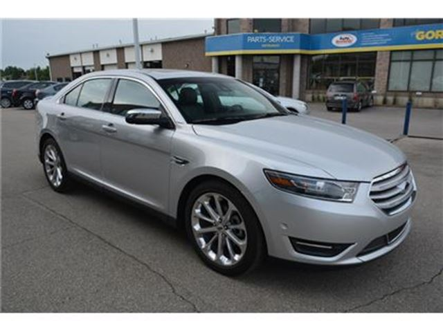 2016 Ford Taurus LIMITED/HEATED-COOLED LEATHER SEATS/NAV/BLUETOOTH in Milton, Ontario