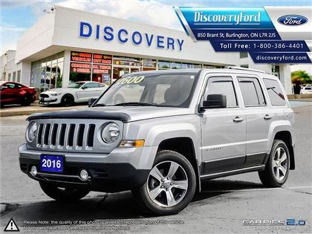 2016 JEEP PATRIOT Sport/North 4WD***ONLY 5,975 KMS**** in Burlington, Ontario