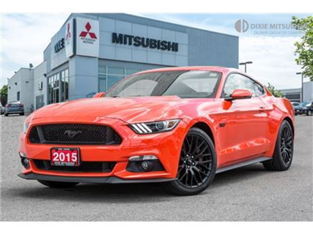 2015 Ford Mustang GT   NAVI   PERFORMANCE PACK   435 HP   BLIS in Mississauga, Ontario