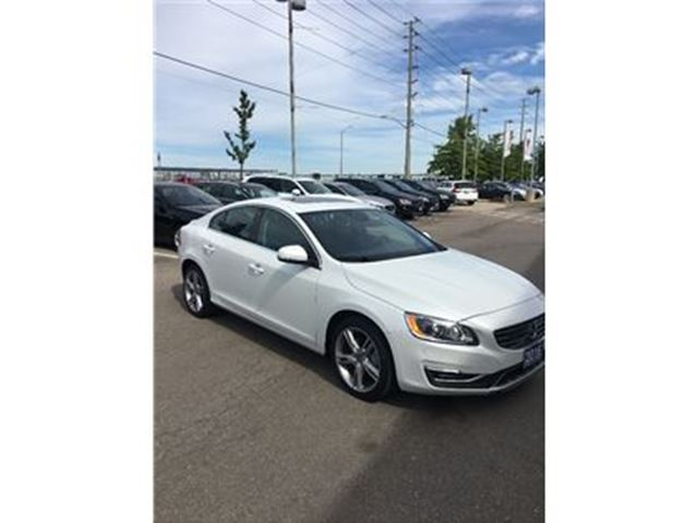 2016 VOLVO S60 T5 AWD SE Premier 1-888-792-5969 for more details. in Mississauga, Ontario