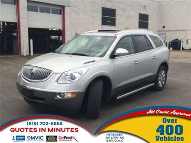 2011 BUICK ENCLAVE CXL   DVD   LEATHER   FULLY LOADED in London, Ontario