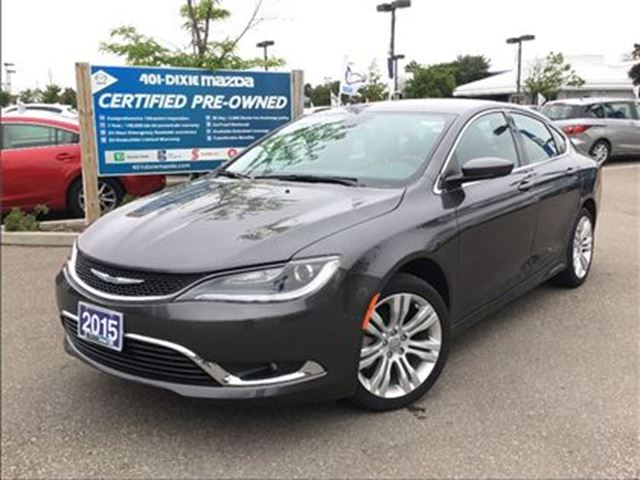 2015 CHRYSLER 200 Limited, HEATED SEATS, HEATED STEERING,ALLOY in Mississauga, Ontario