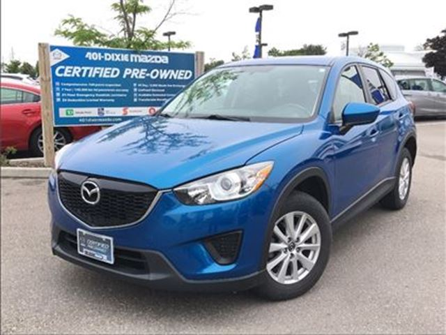 2014 MAZDA CX-5 GX, AUTO, NO ACCIDENTS,ALLOY WHEELS in Mississauga, Ontario