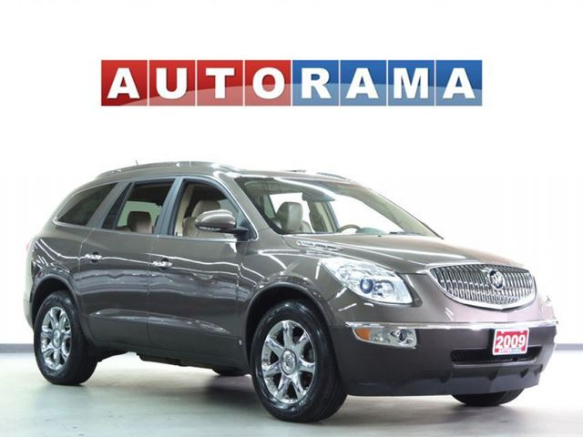 2009 Buick Enclave LEATHER SUNROOF 7 PASS AWD BACKUP CAM in North York, Ontario