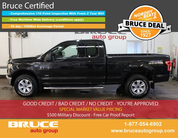 2015 FORD F-150 XLT 2.7L 6 CYL ECOBOOST AUTOMATIC 4X4 SUPERCAB in Middleton, Nova Scotia