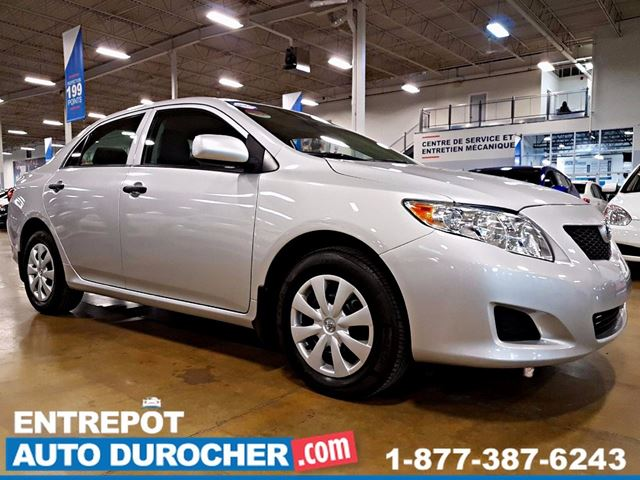 2010 Toyota Corolla AUTOMATIQUE - AIR CLIMATISn++ in Laval, Quebec