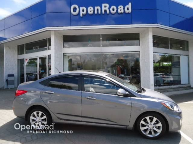 2014 HYUNDAI ACCENT GLS- FINANCE AS LOW AS 0.90% in Richmond, British Columbia
