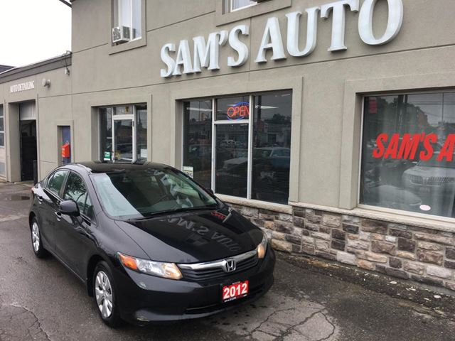 2012 HONDA CIVIC LX in Hamilton, Ontario