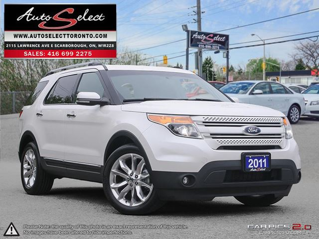 2011 Ford Explorer Limited Edition 4WD ONLY 219K! **6 PASSENGER** TECHNOLOGY PKG in Scarborough, Ontario