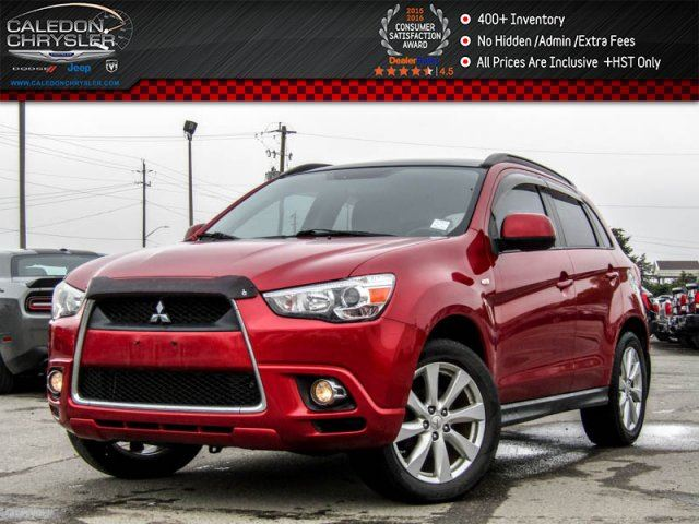 2012 Mitsubishi RVR GT 4x4 Bluetooth Pano Sunroof Pwr Windows Pwr Locks Keyless Entry 18Alloy Rims in Bolton, Ontario