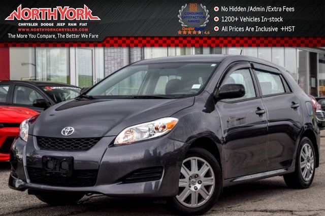 2013 Toyota Matrix Keyless_Entry AC Power Opts. Traction Control GREAT DEAL! in Thornhill, Ontario