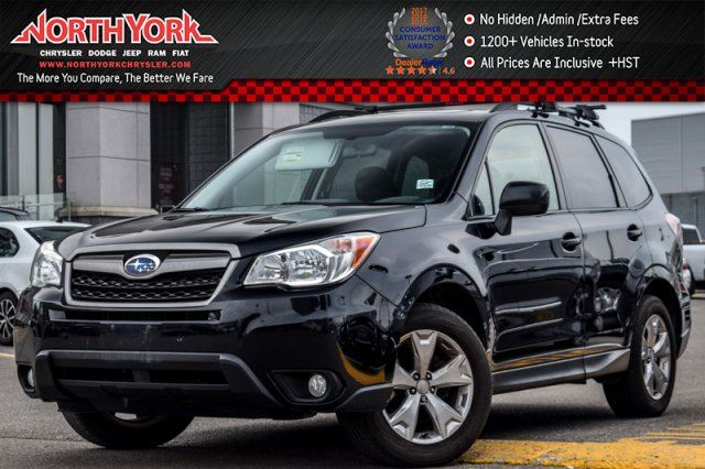 2015 Subaru Forester i Touring 4x4 Manual Pano_Sunroof Backup_Cam Tow Hitch 17Alloys in Thornhill, Ontario