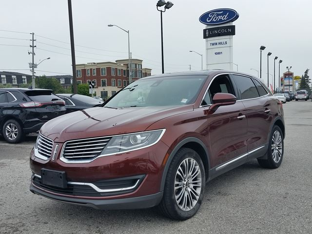 2016 LINCOLN MKX Reserve in Richmond Hill, Ontario