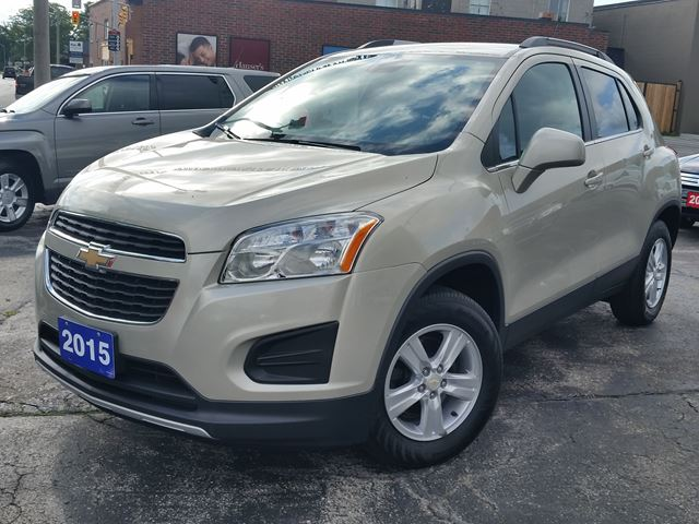 2015 Chevrolet Trax LT,ALL WHEEL DRIVE,REMOTE START,BALANCE FACTORY WARRANTY in Dunnville, Ontario