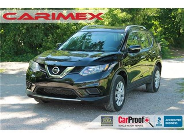 2014 NISSAN ROGUE S AWD   Bluetooth   Accident-FREE in Kitchener, Ontario