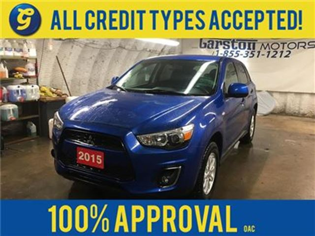 2015 Mitsubishi RVR AWD*CVT*PHONE CONNECT*HEATED FRONT SEATS*KEYLESS E in Cambridge, Ontario