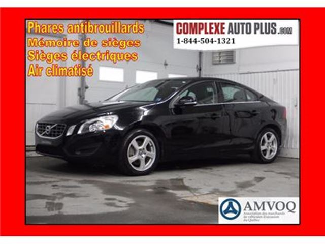 2012 Volvo S60 T5 Level 1 *54 800 km Certifié ! in Saint-Jerome, Quebec