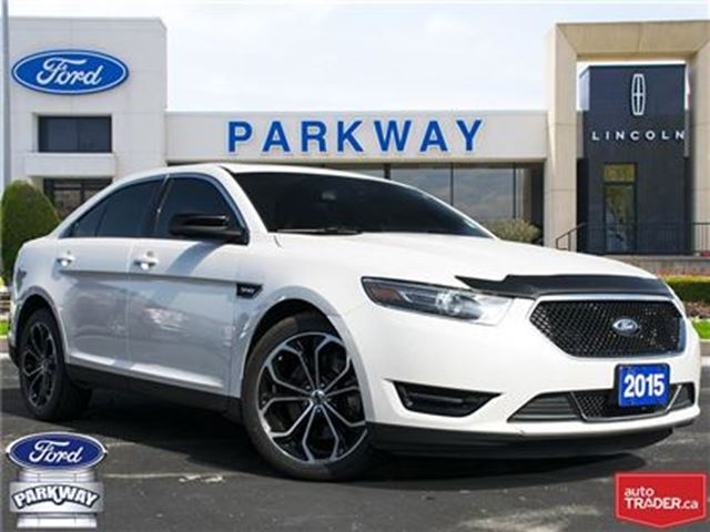 2015 Ford Taurus SHO AWD  LEATHER  SUNROOF  GPS in Waterloo, Ontario