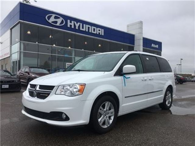 2016 Dodge Grand Caravan Crew Plus in Brampton, Ontario