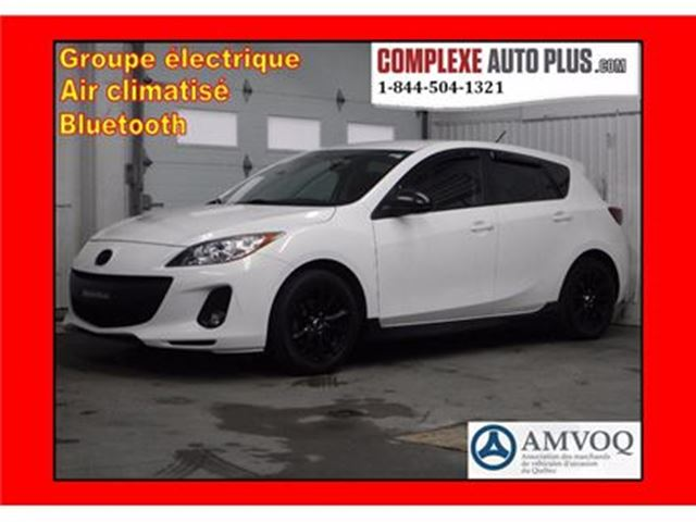2012 Mazda MAZDA3 GX Sport *A/C,Cruise,Mags in Saint-Jerome, Quebec