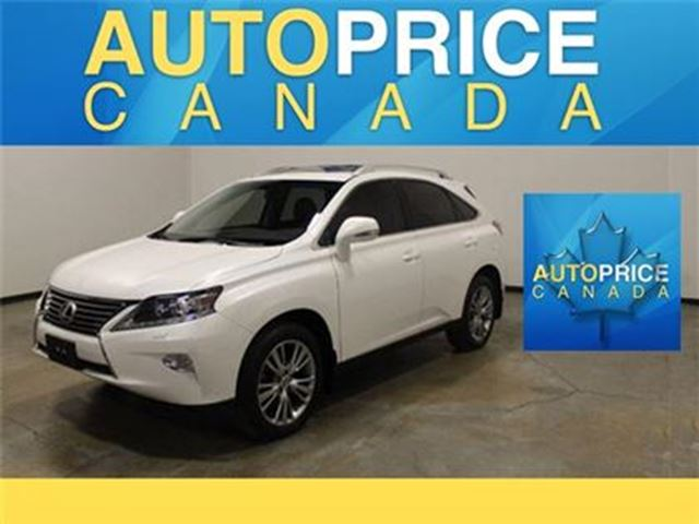 2014 Lexus RX 350 NAVIGATION REAR CAM HEADS UP in Mississauga, Ontario