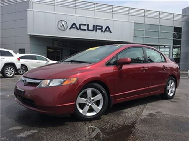 2008 HONDA CIVIC LX   ONEOWNER   FWD   CRUISECONTROL   AUTOMATIC in Burlington, Ontario