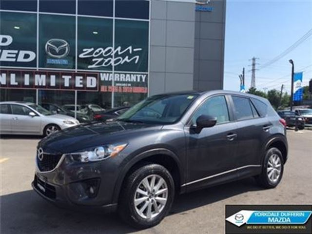 2015 MAZDA CX-5 GS / LEATHER / SUNROOF / BLIND SPOT / 0.9%!!! in Toronto, Ontario