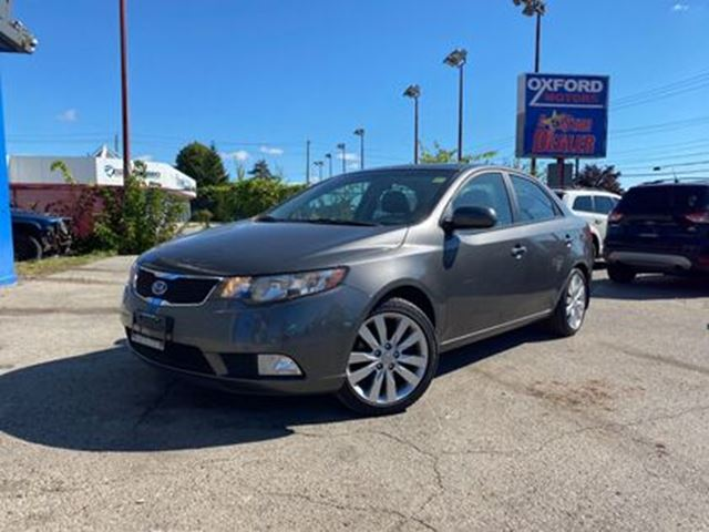 2013 KIA FORTE SX   LUXURY PACKAGE   SUNROOF   LEATHER in London, Ontario