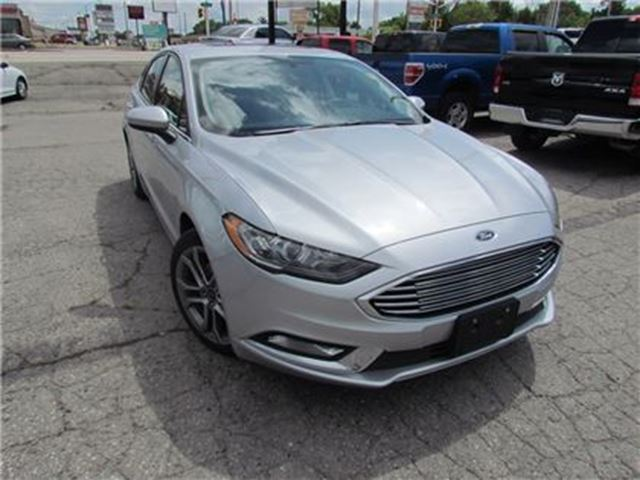 2017 FORD Fusion SE   LEATHER   SUNROOF   BACKUP CAM in London, Ontario