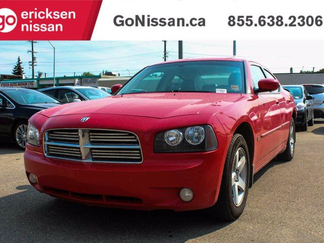 2010 DODGE Charger SXT 4dr Rear-wheel Drive Sedan in Edmonton, Alberta